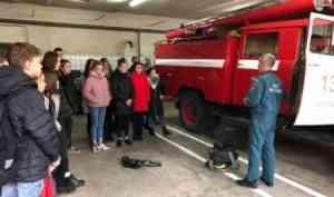 Вместо урока - в пожарную часть