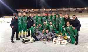 Впервые юношеский состав «Водника» стал обладателем Кубка мира по хоккею с мячом