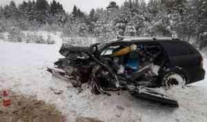 Житель Северодвинска попал в ДТП на трассе в Вологодской области