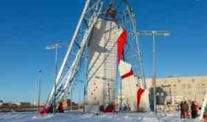 Скалодром в Северодвинске: готовность – 90 процентов
