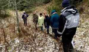 Путешествие к Святому ручью на Пинежье - волонтеры обустраивают экотропу к водопаду