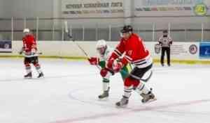 «Ночная хоккейная лига» набирает обороты в Поморье