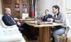 Игорь Орлов: «Российское движение школьников в ближайшее время должно охватить не менее половины школ Поморья»