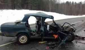 В Шенкурском районе по вине пьяного водителям в ДТП погибли женщина и ребёнок