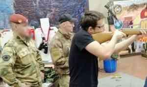 В Архангельской области военнослужащие Росгвардии организовали для учащихся техникума турнир по стрельбе имени М.Т. Калашникова