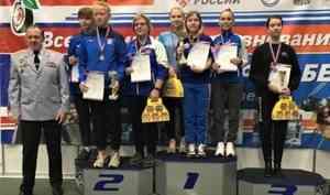 Стрелки Поморья взяли девять медалей навсероссийском турнире