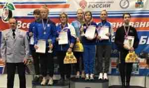 Стрелки из Архангельской области завоевали девять медалей на всероссийских соревнованиях