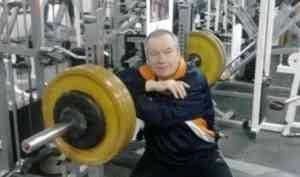 10 ноября празднует свой 70-летний юбилей мастер спорта по пауэрлифтингу Ступин Виталий Васильевич