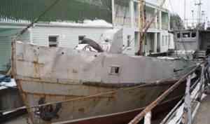 У жителя Архангельска из-за долгов арестовали судно
