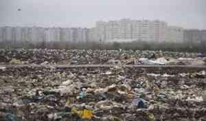 В Архангельске подсчитают объём мусора на переполненной городской свалке