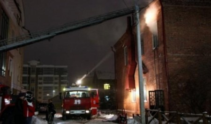 Структура правительства и грузинский ресторан пострадали от пожара в Архангельске
