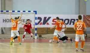 «Северная Двина» одержала победу над «Зарей» Якутии