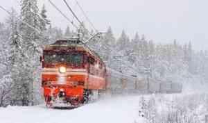 Зимой путешествуйте поездом. Это удобно, комфортно и надёжно