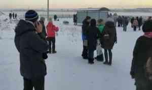 Доставка людей осуществляется по возможности: жители Хабарки в ледовой осаде