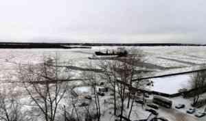 Гидрологи Севгидромета не ждут улучшения ледовой обстановки в Архангельске