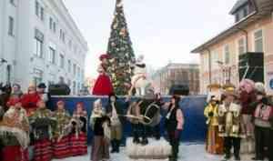 Праздник к нам приходит: 23 ноября на Чумбаровке состоится открытие новогодней ёлки