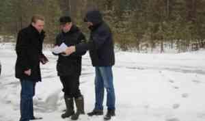 Работы приняты: в Няндомском районе завершен первый этап ликвидации несанкционированных свалок