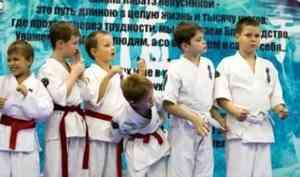 Чемпион мира по кёкусинкай каратэ поделился своим мастерством в Архангельске