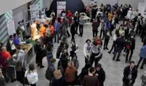 Примерить на себя профессию: интерактивная выставка для школьников прошла в столице Поморья