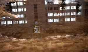 Ледяной Архангельск, грустный дворник и безумный каток