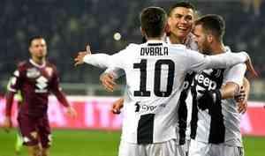 """Чемпионат Италии: """"Ювентус"""" победил """"Торино"""" с минимальным преимуществом 1:0"""