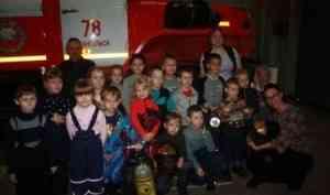 Пожарная часть № 78 принимает гостей