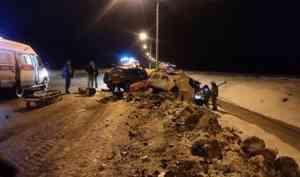 Не садитесь, девчонки, за руль! В аварии в Котласском районе погибли три двацатилетнии девушки