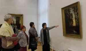 Состоялась необычная экскурсия на выставку «Иван Шишкин»