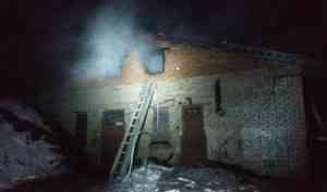 На о. Вознесенье устраняют последствия пожара в котельной