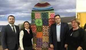 В Новодвинске открылся Музей поморской варежки