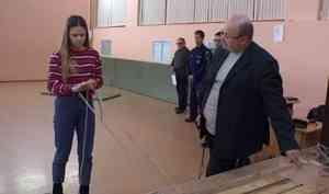 В62 школе Архангельске прошел муниципальный этап Всероссийской олимпиады среди школьников поОБЖ