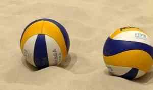 Впляжный волейбол играть теперь можно даже зимой