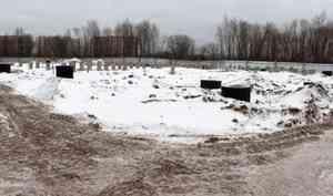 ВАрхангельском округе Варавино-Фактория приостановлены работы построительству ФОК
