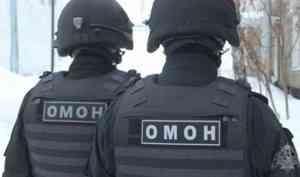 При содействии архангельского ОМОН из незаконного оборота изъята крупная партия оружия и боеприпасов