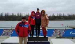 Архангелогородка выиграла две медали на всероссийских соревнованиях по гребле