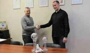 Большой хрустальный глобус - уже в Архангельске!
