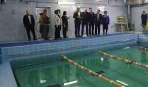 Ввельской школе №4 кеё60-летию отремонтировали бассейн