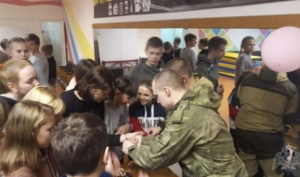 В Архангельской области сотрудники вневедомственной охраны Росгвардии приняли участие в профориентационном мероприятии для школьников