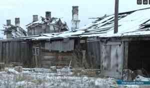 Жители заброшенного посёлка вАрхангельской области отчаялись обрести жильё