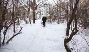 6 декабря в Архангельске будет +1°С и снег