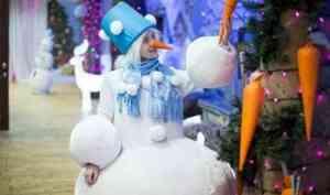 День рождения Архангельского Снеговика попал в топ-3 событий первых зимних выходных