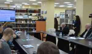 Михаил Панков рассказал журналистам о медико-биологических исследованиях ученых САФУ