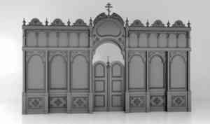 Деревянный резной иконостас украсит храм в Рикасихе под Архангельском