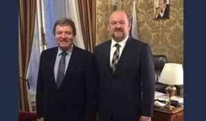 Игорь Орлов обсудил вопросы торгово-экономического сотрудничества сторгпредом РФвАвстрии