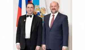 Звание «Почетный работник культуры Архангельской области» присвоено музыканту Отару Малишаве