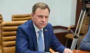 Виктор Новожилов представил в Совфеде инициативы архангельских парламентариев