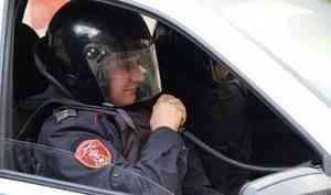В Котласе наряд Росгвардии задержал подозреваемого в грабеже