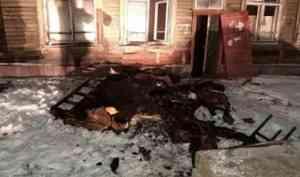 В Северодвинске за день произошло четыре пожара в нежилых домах