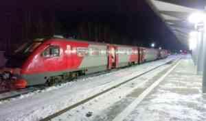 В расписание рельсового автобуса Северодвинск-Архангельск внесли изменения