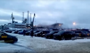 Число пострадавших во время пожара на крейсере «Адмирал Кузнецов» увеличилось до 8 человек